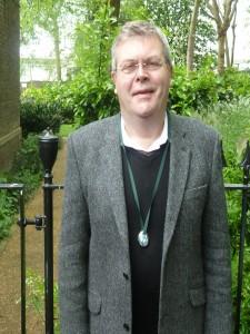 Churchwarden Stephen Jones