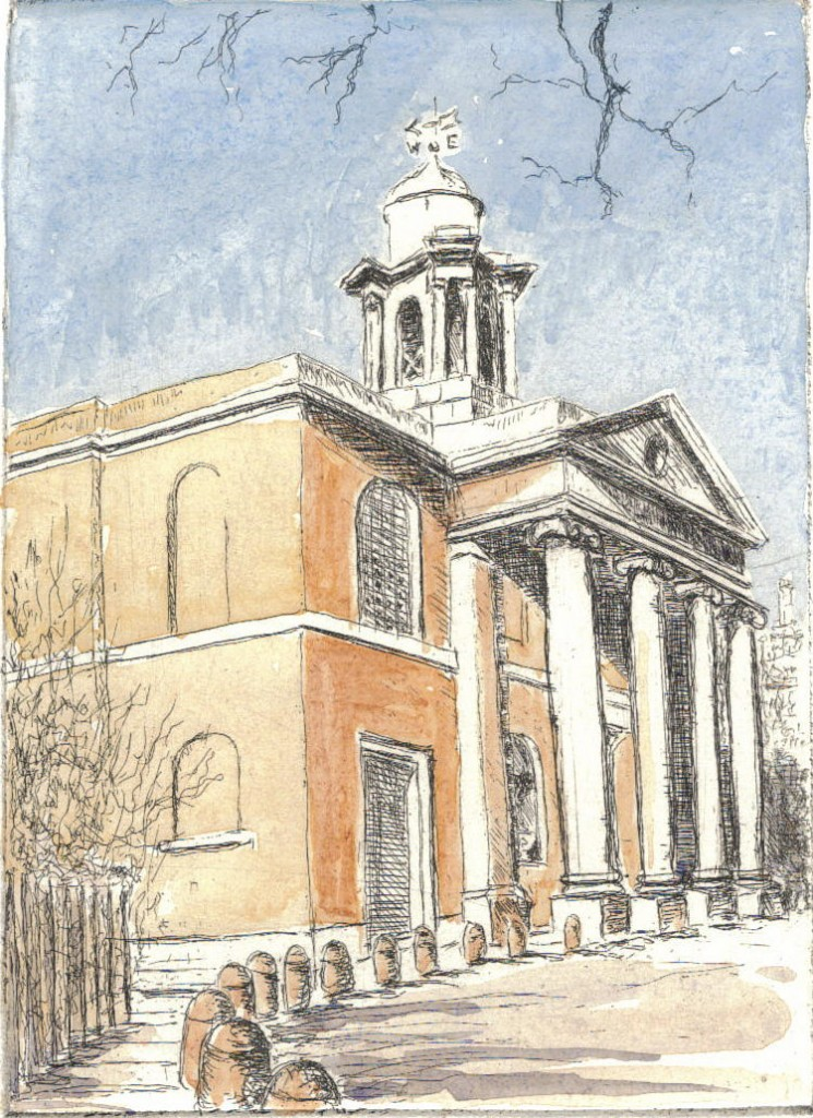 St John's Wood Church, by John Owen