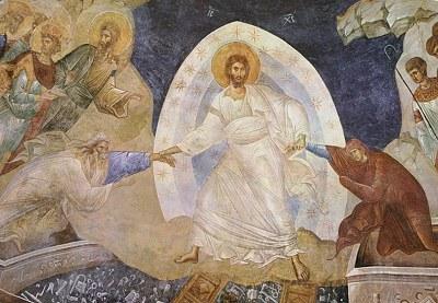 An image of Jesus' resurrection