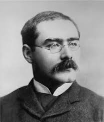 Short story writer, poet and novelist Rudyard Kipling
